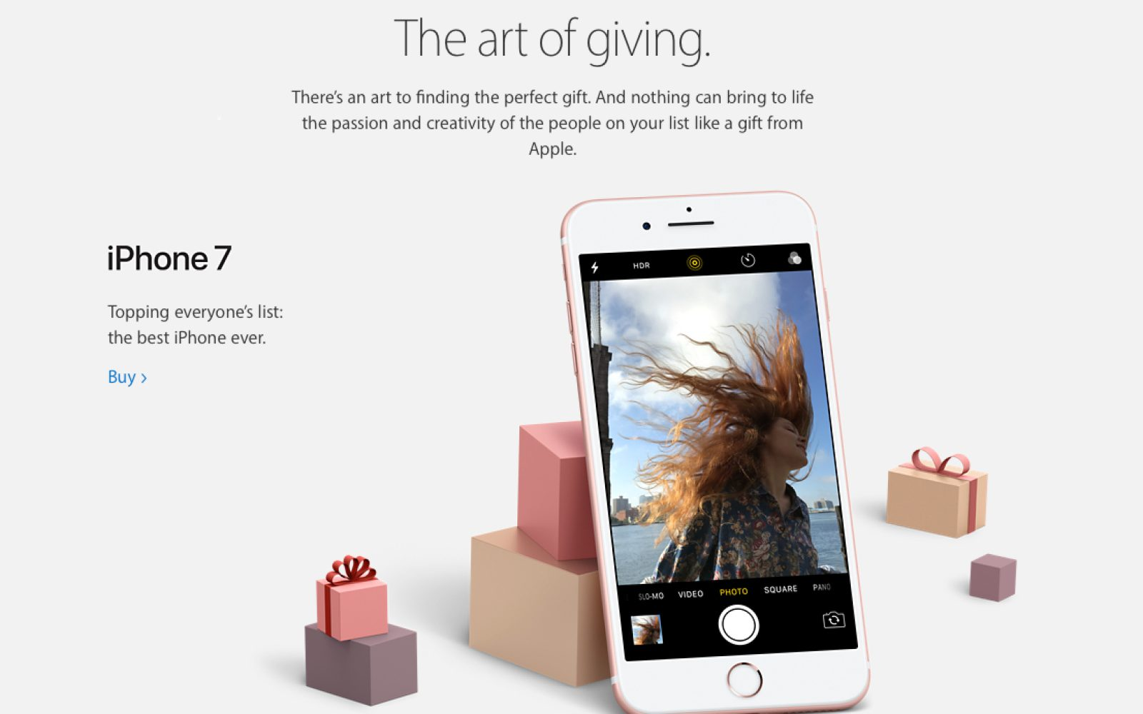 separation shoes 67941 aba12 Apple shares 2016 holiday gift guide, featuring iPhone photography ...