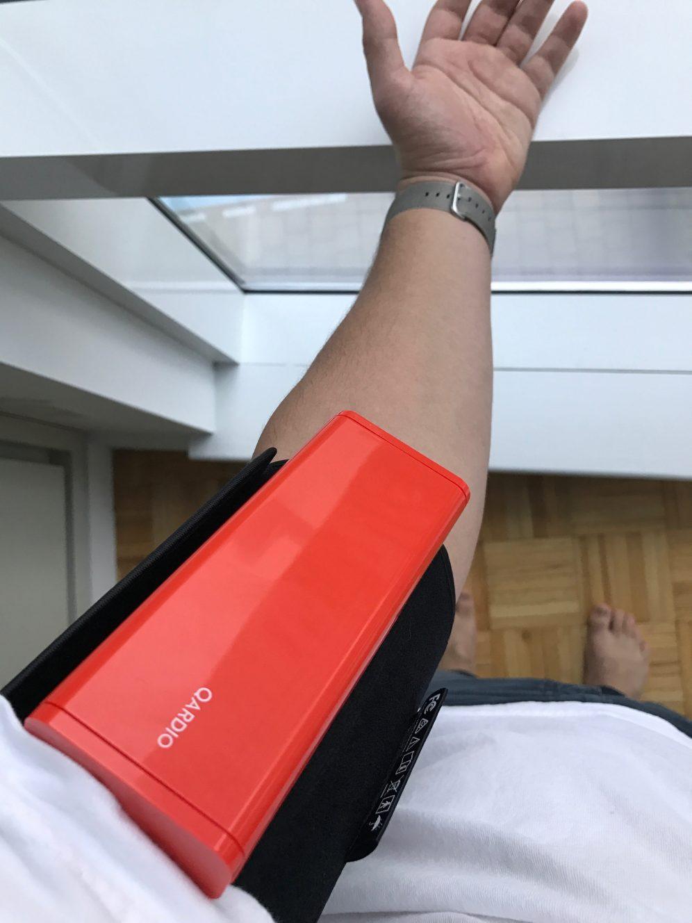 QardioArm on arm
