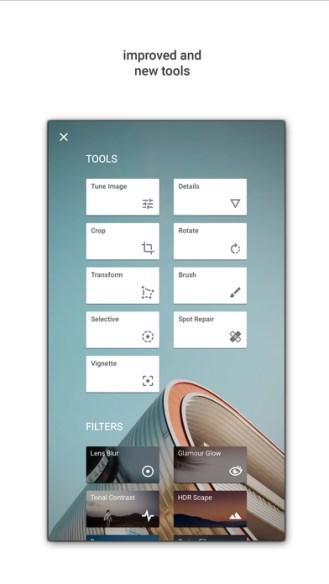 SnapSeed App Store Screen 2