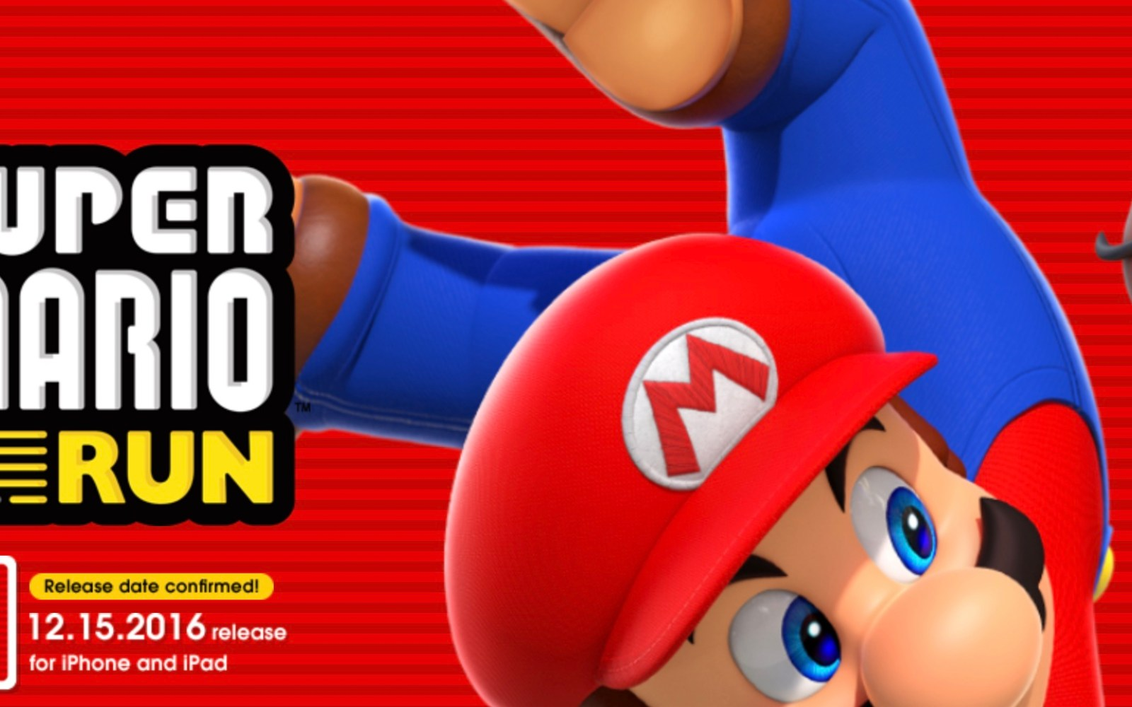 Try Super Mario Run in Apple Stores today, game featured on Jimmy Fallon ahead of launch next week