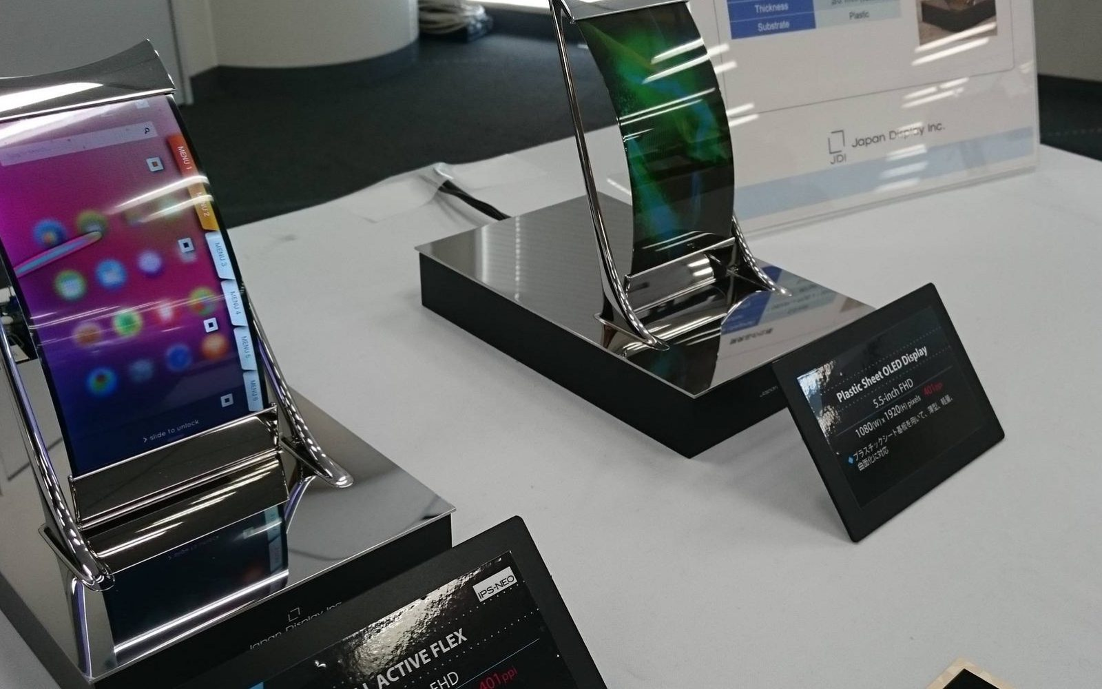 Apple considering flexible LCD Japan Display tech for