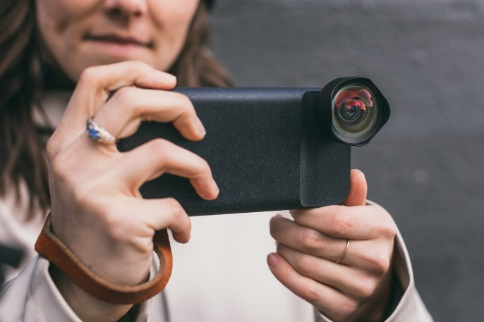 Moment Battery Photo Case with new Wide Lens