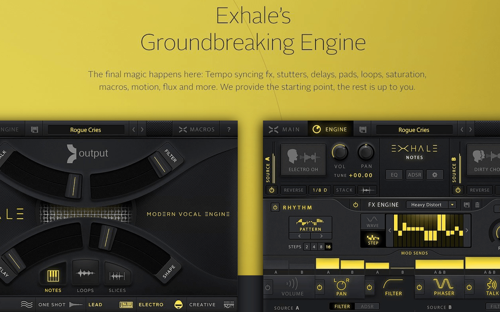 Logic Pros Breathe Some Life Into Your Tracks W Exhale Vocal Electronic Selector For 8 Sources Engine