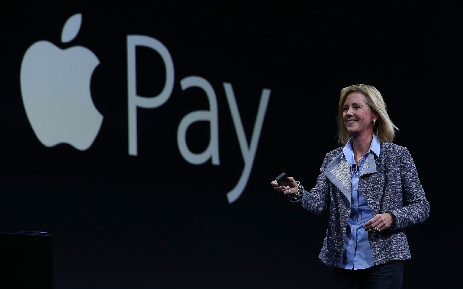 Apple VP Jennifer Bailey says Australian customers use Apple Pay more frequently than any other country, as major banks dispute terms
