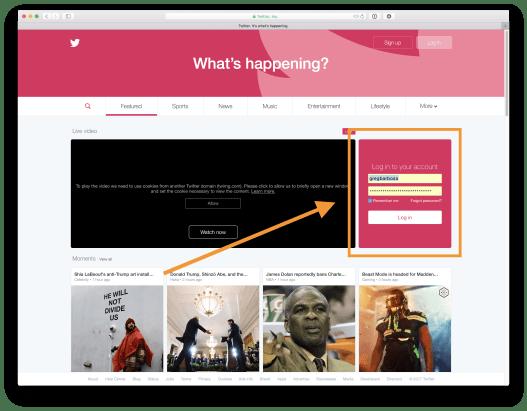 macOS Safari iCloud Keychain Saved Credentials