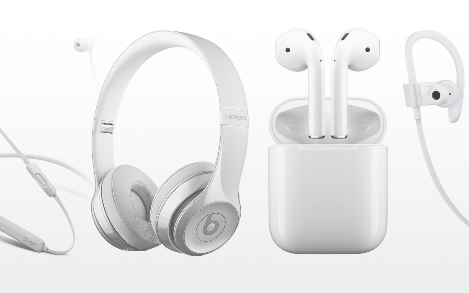 e64f94e2a9f W1 Bluetooth wireless headphones compared: Apple AirPods, Beats Solo3,  Powerbeats3 & BeatsX