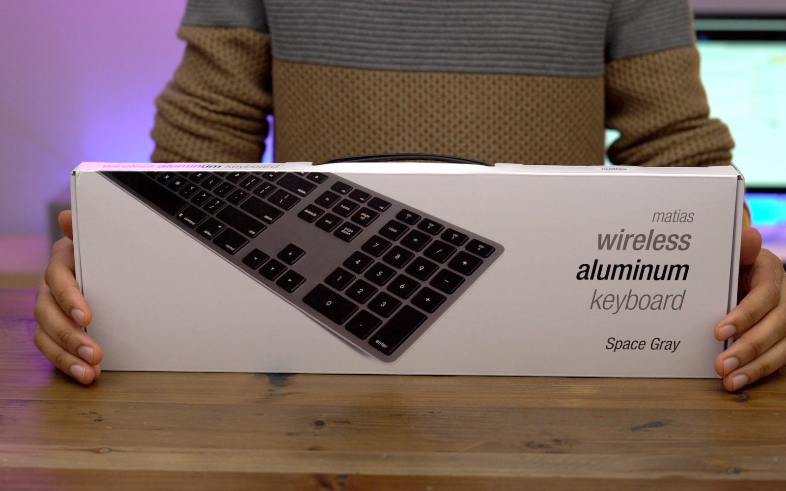 The Matias Wireless Aluminum Keyboard Is Apple Should Mini I8 With 3 Colour Backlight Be Making Video