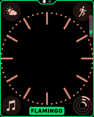 watchOS 3.2 watch face colors 5
