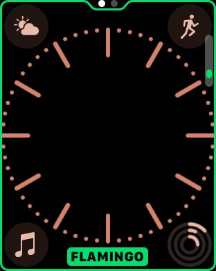 watchOS 3.2 watch face colors 5