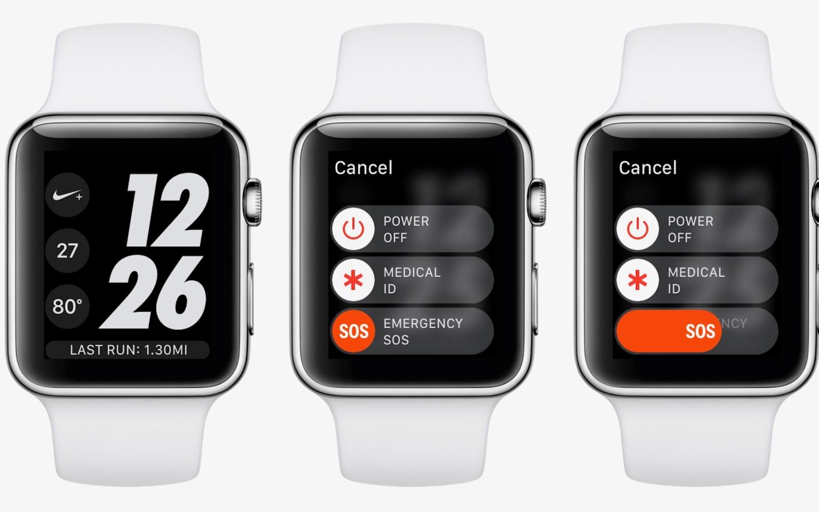 Apple Watch SOS calls 911 after college student's car crash