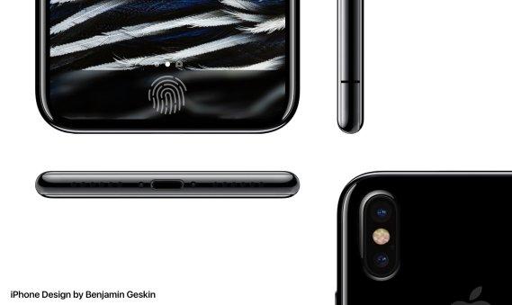 iPhone 8 render based on leak