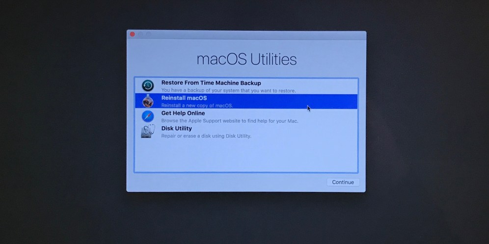 How to factory reset a Mac 9