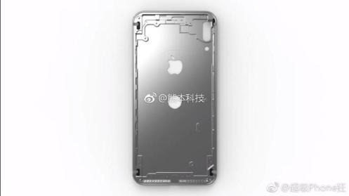 iPhone 8 chassis weibo 1