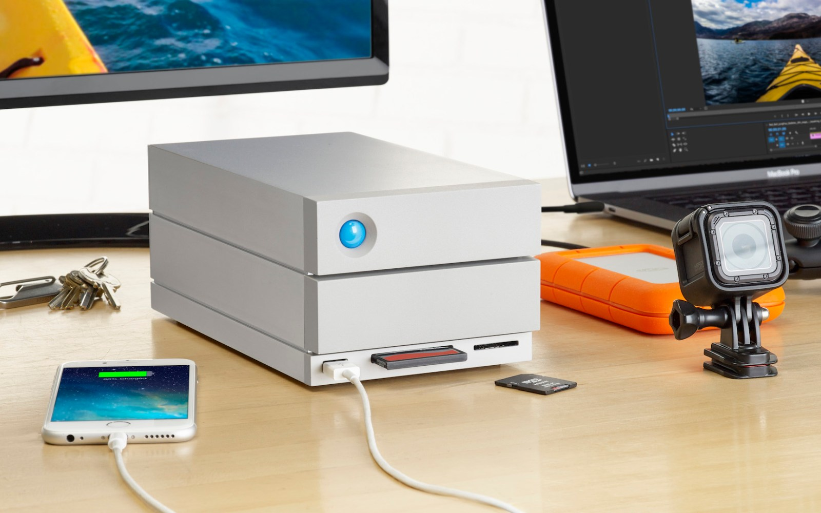 LaCie launches new '2big' Thunderbolt 3-enabled dock