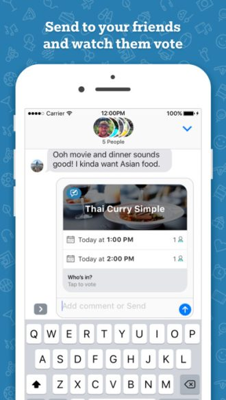 Microsoft releases 'Who's In' iMessage app for event planning with