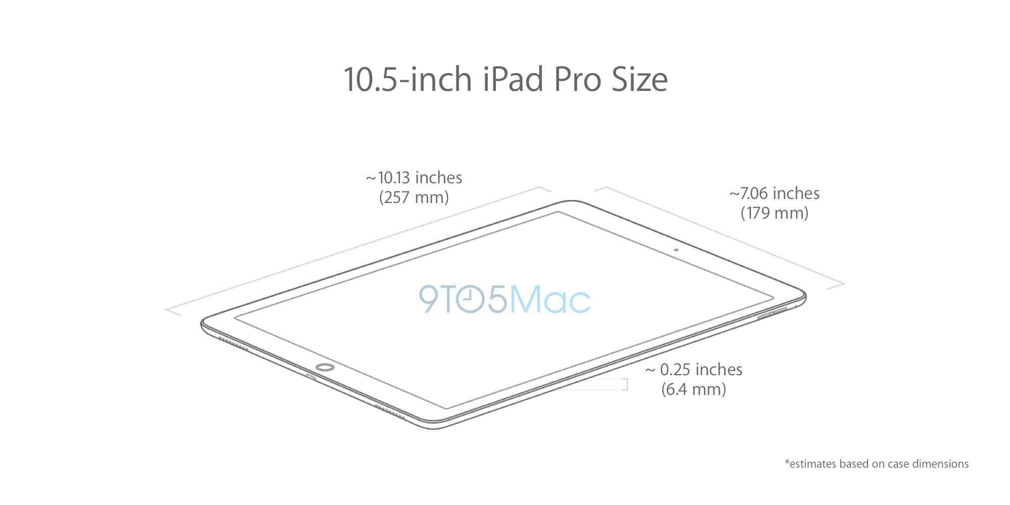 10 5 Inch Ipad Pro Dimensions