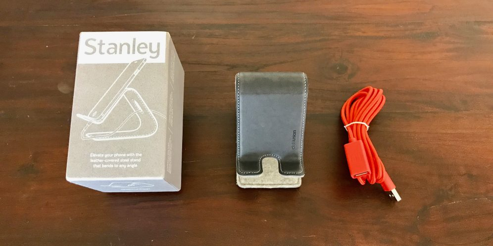 Stanley Stand comes with a 6-foot USB extension cord