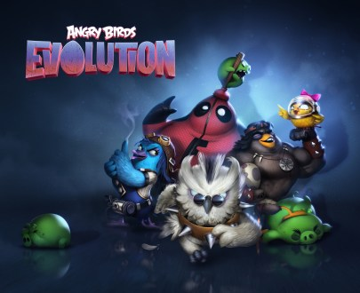 Angry Birds Evolution Key Art
