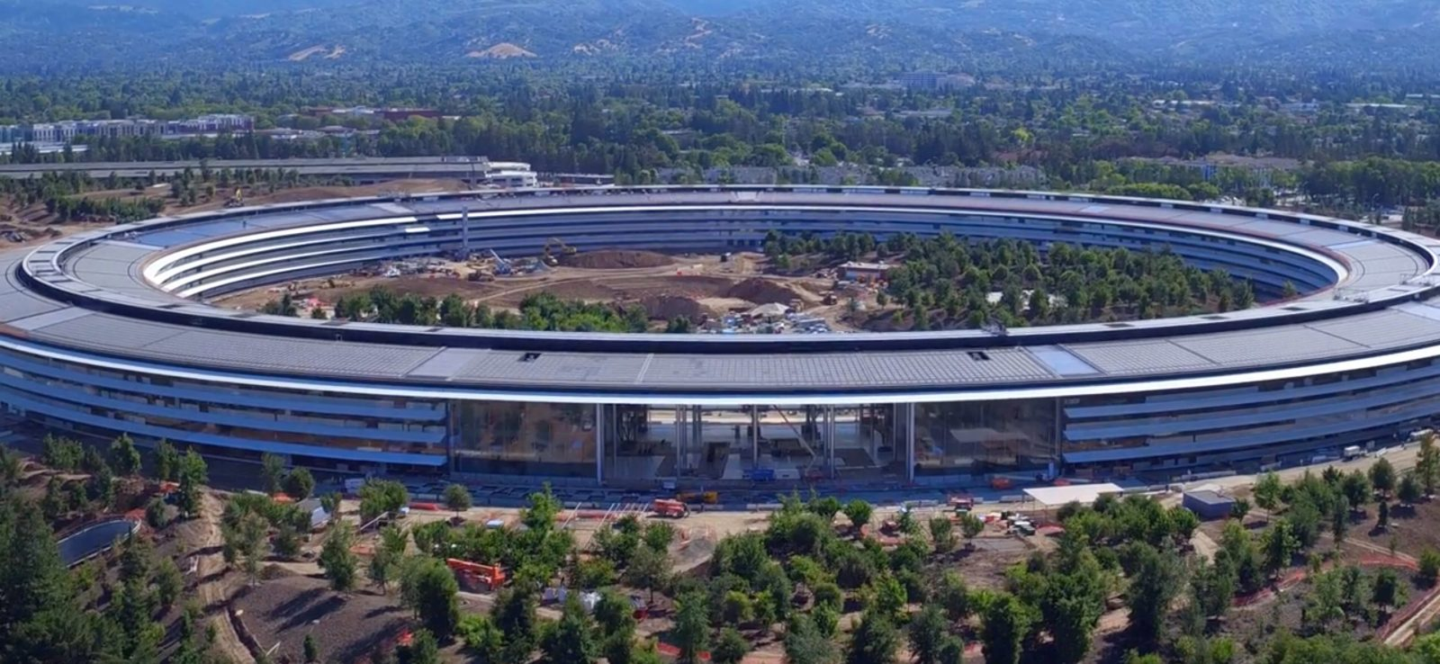 Latest Flyover Footage Offers Look At Apple Park Cafe As Finishing Touches Continue Video
