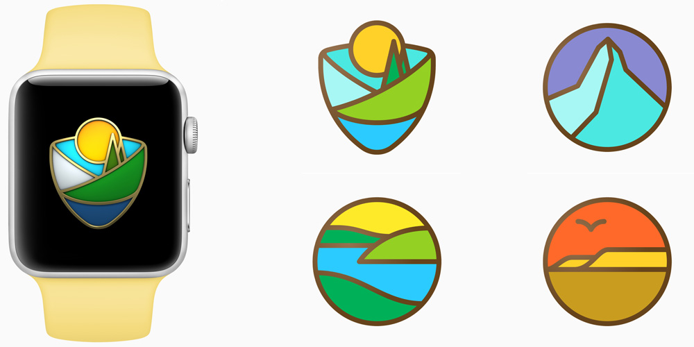 Apple supporting National Parks next month w/ Apple Pay donations & new Watch Activity challenge