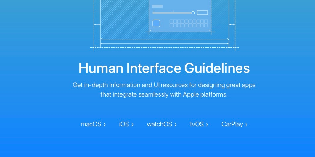 Apple releases redesigned macOS Human Interface Guidelines