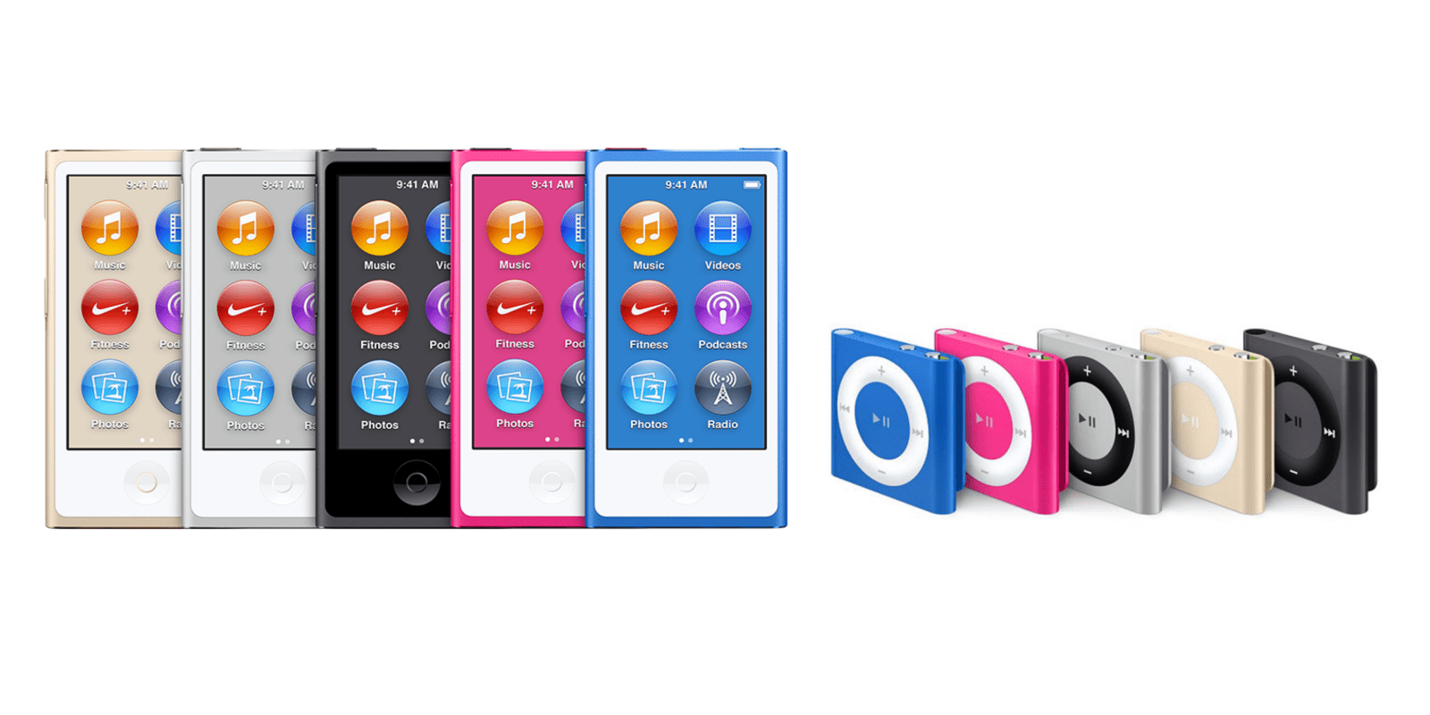 Apple discontinues iPod nano and shuffle (Update: Confirmed)