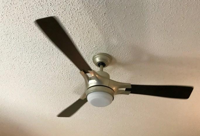 Hunter fan installation 5