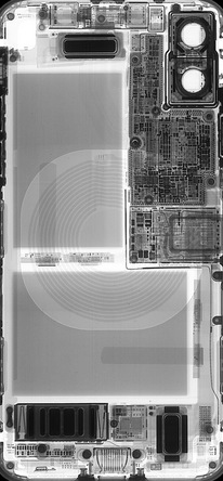 iFixit iPhone X X-ray