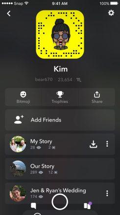 Snapchat Redesign 10