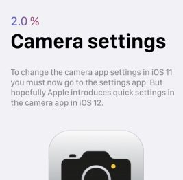 12 iOS 12 wishlist camera settings