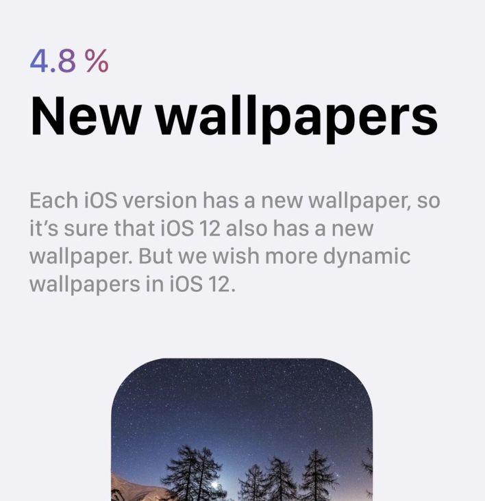 8 iOS 12 wishlist wallpapers