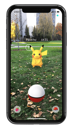 Pokemon GO ARKit 3