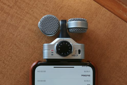 Review: The Zoom iQ7 Lightning mic is a suitable companion