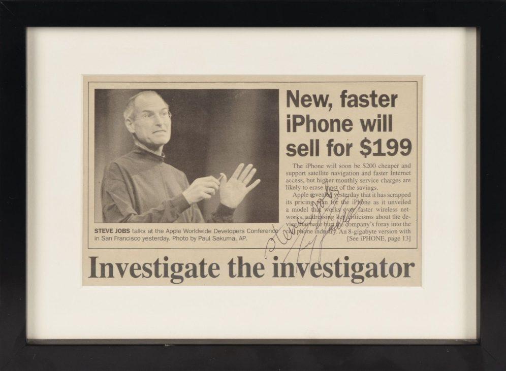 steve-jobs-signed-newspaper