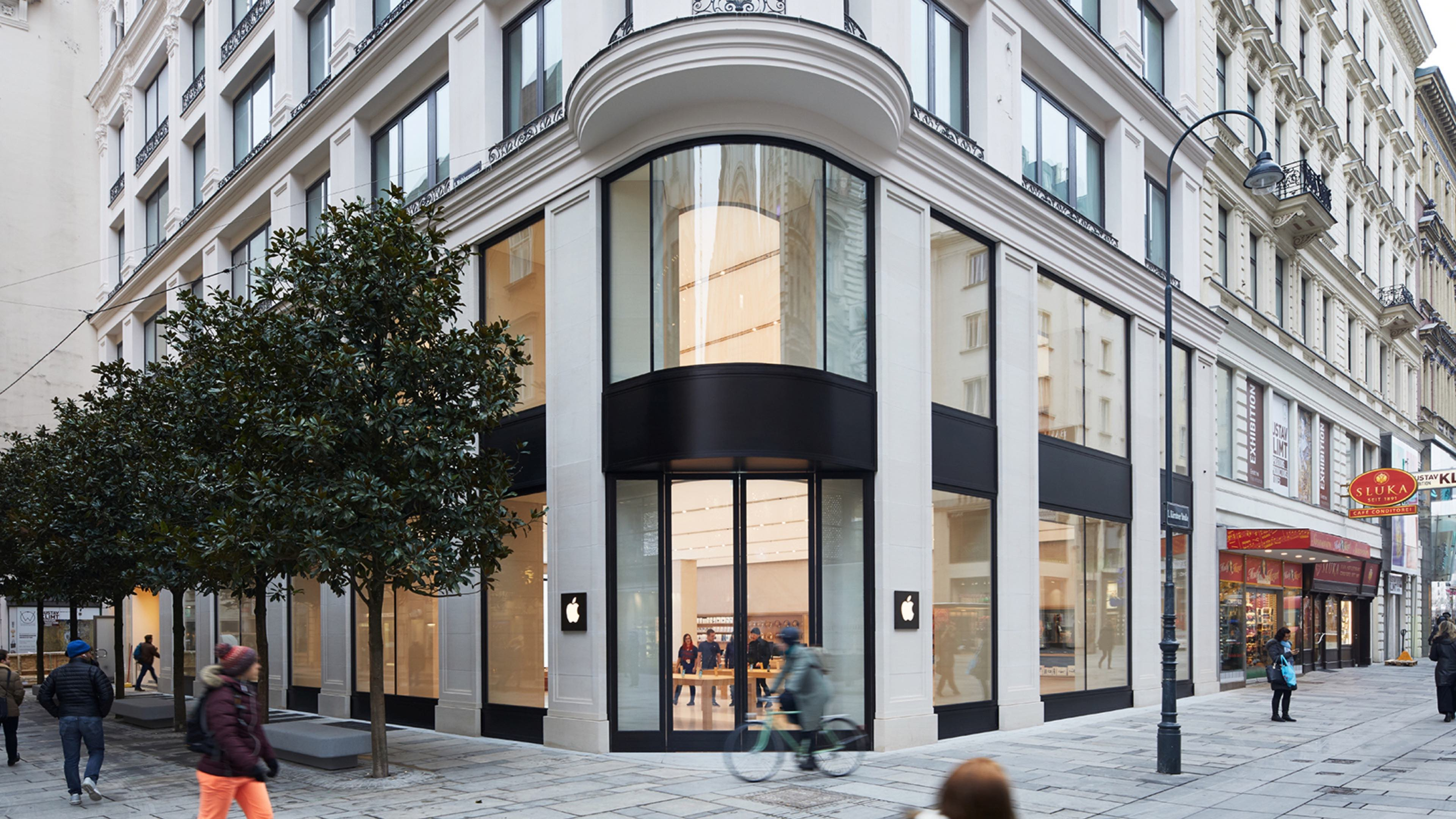 Apple shares fresh photos of new Vienna  Austria retail store ahead     Apple shares fresh photos of new Vienna  Austria retail store ahead of  grand opening Saturday