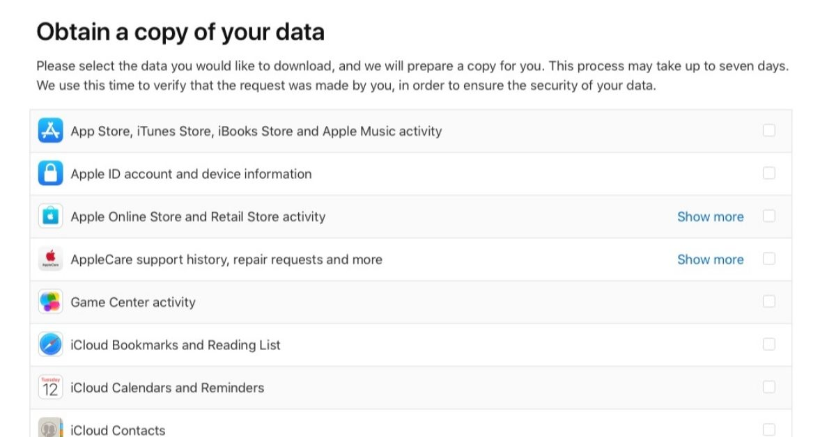 Apple launches new privacy portal, users can download a copy of everything Apple knows about them - 9to5Mac