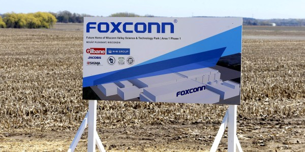 Image result for foxconn wisconsin milwaukee