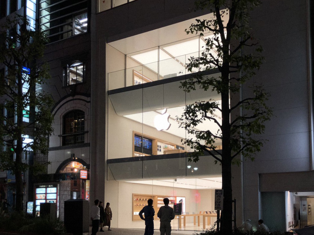 Apple Shibuya's three-story redesign features a stunning new