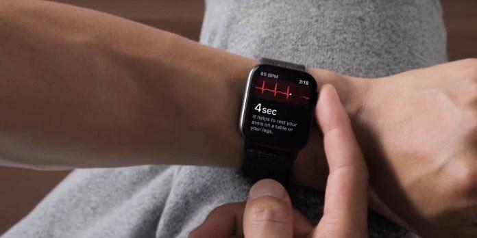 Apple Watch ECG readings