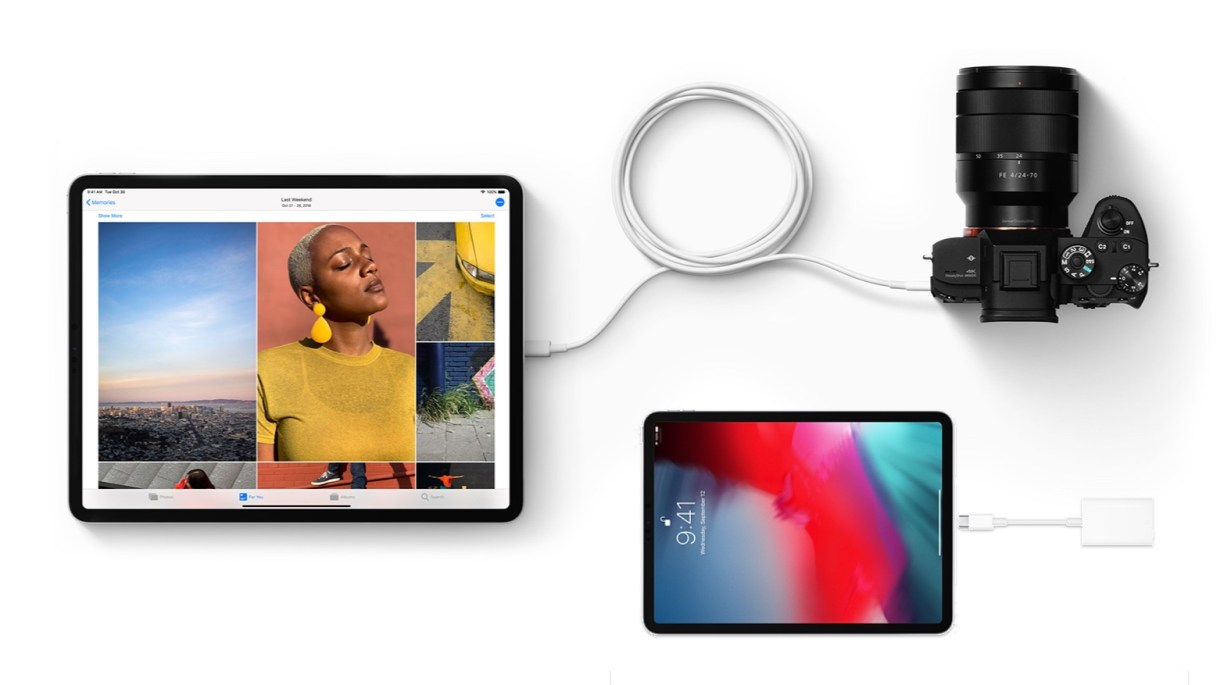 ipad pro camera - جميع الأجهزة التي تستطيع أجهزة آيباد برو الجديدة الاتصال بها