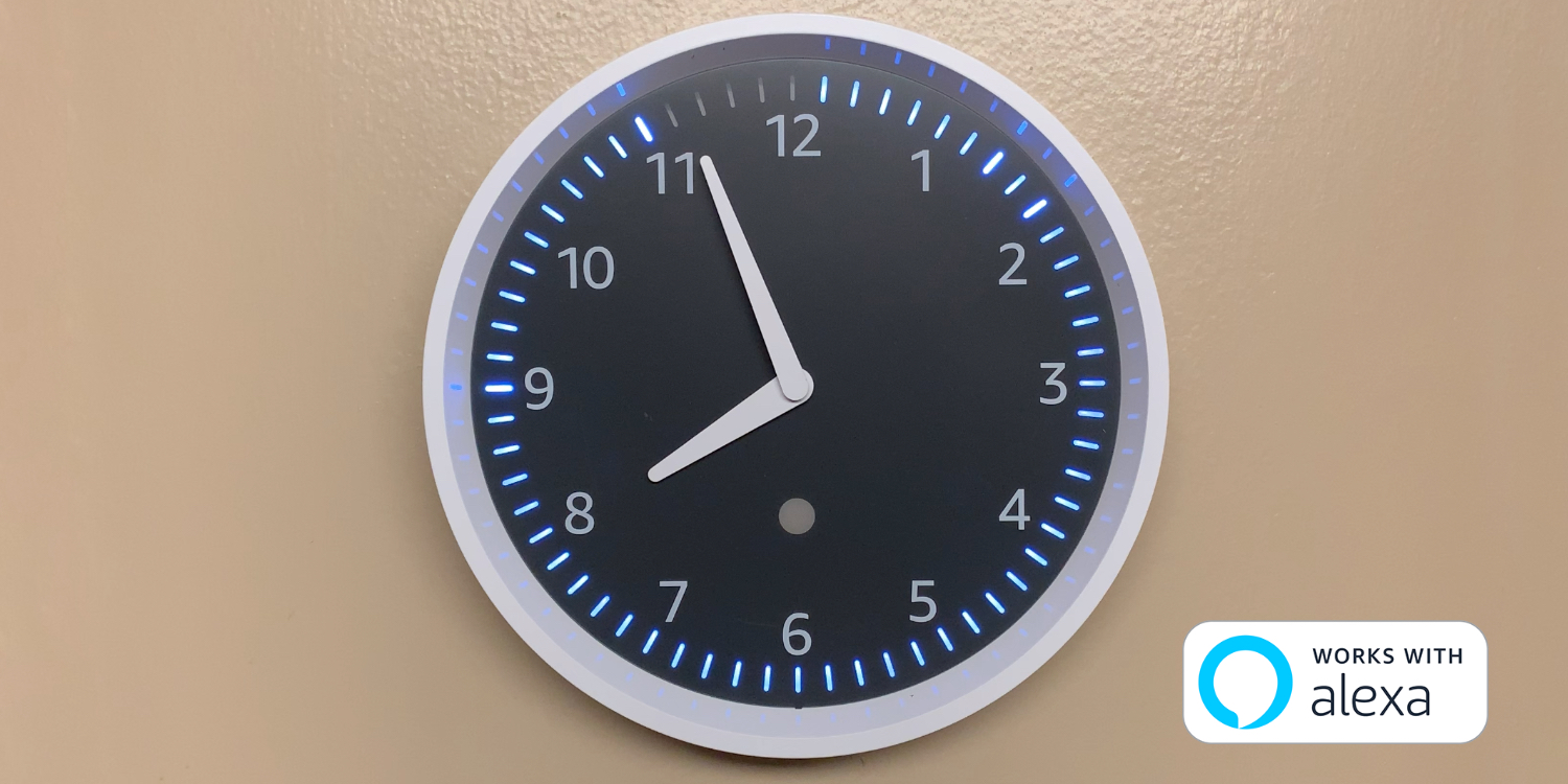 Review: Amazon's $29 Echo Wall Clock Packs Modern Tricks