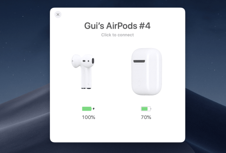 airbuddy airpods card
