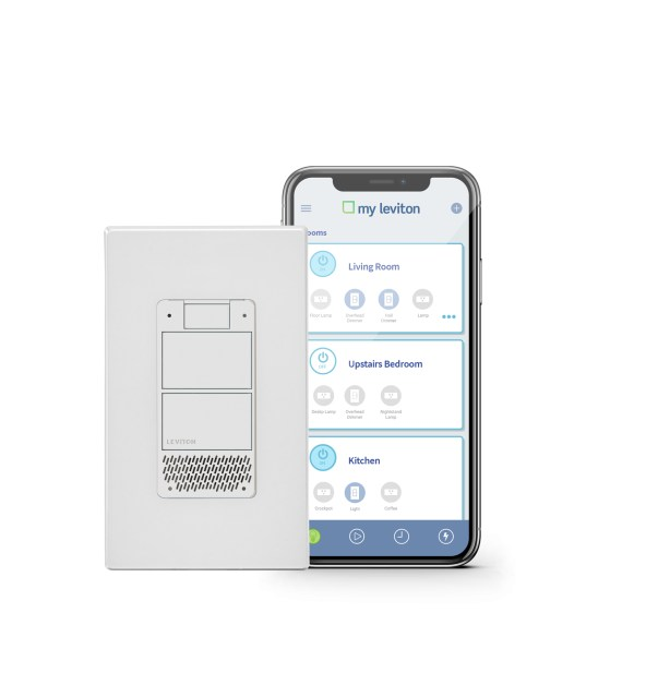 Leviton smart lighting