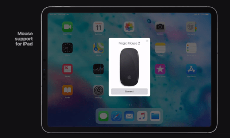 ios 13 features mouse