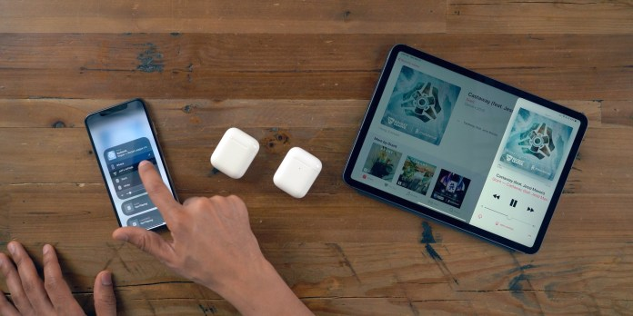 AirPods 2 faster device switching