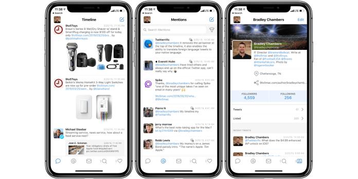 Tweetbot for iPhone app