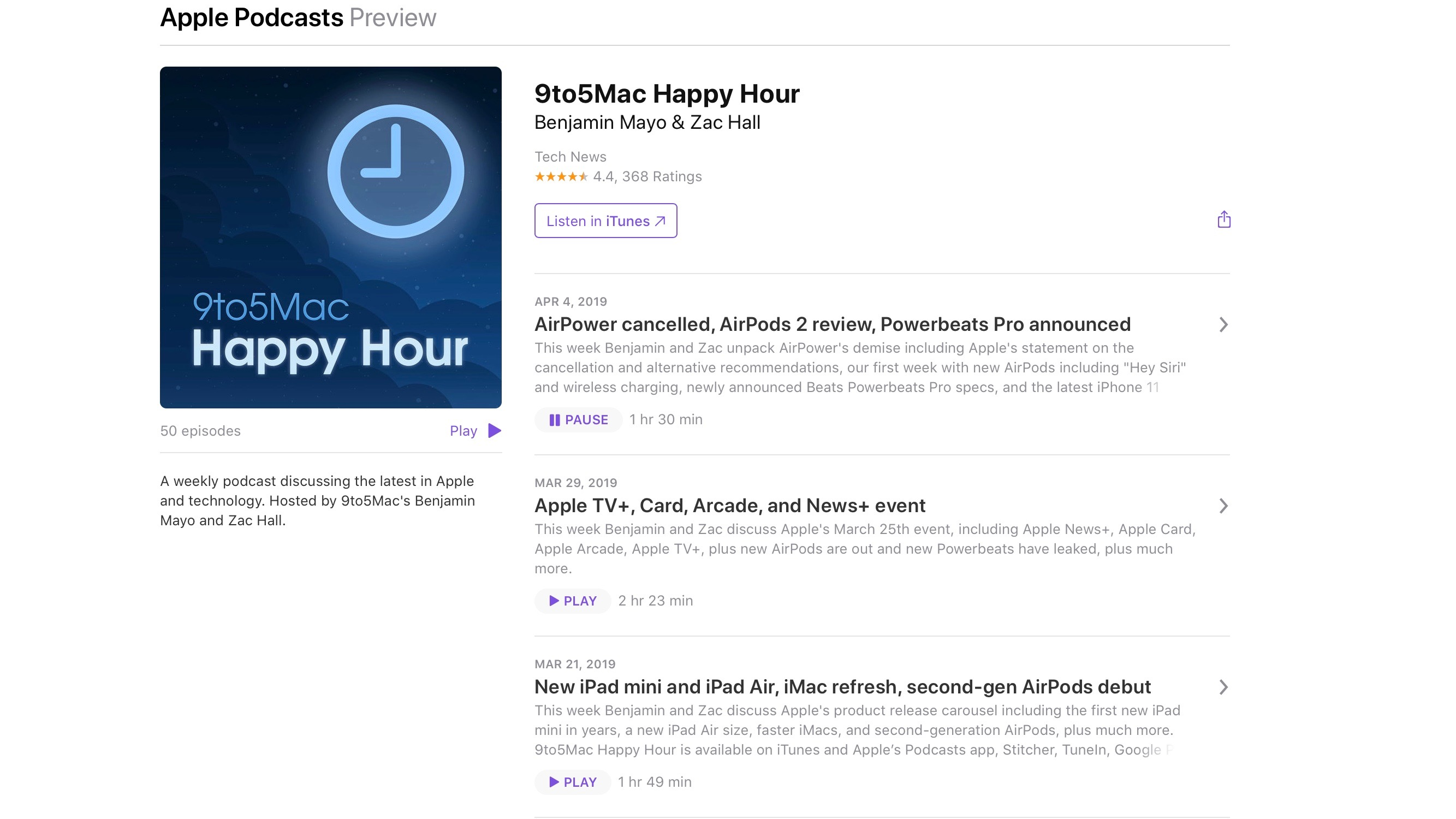 apple podcasts browser version