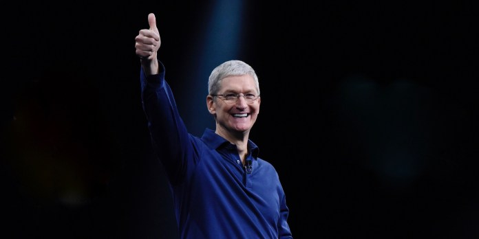 Apple's record earnings