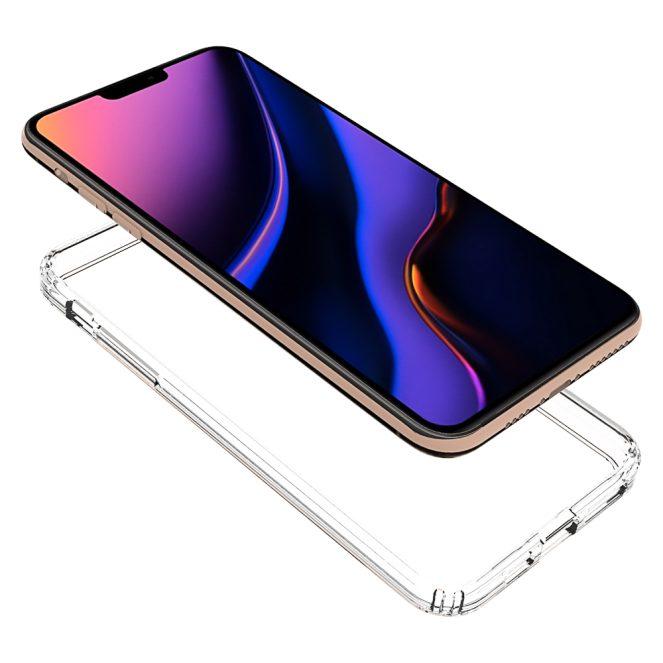 Olixar-ExoShield-Clear-iPhone-11-Max-side