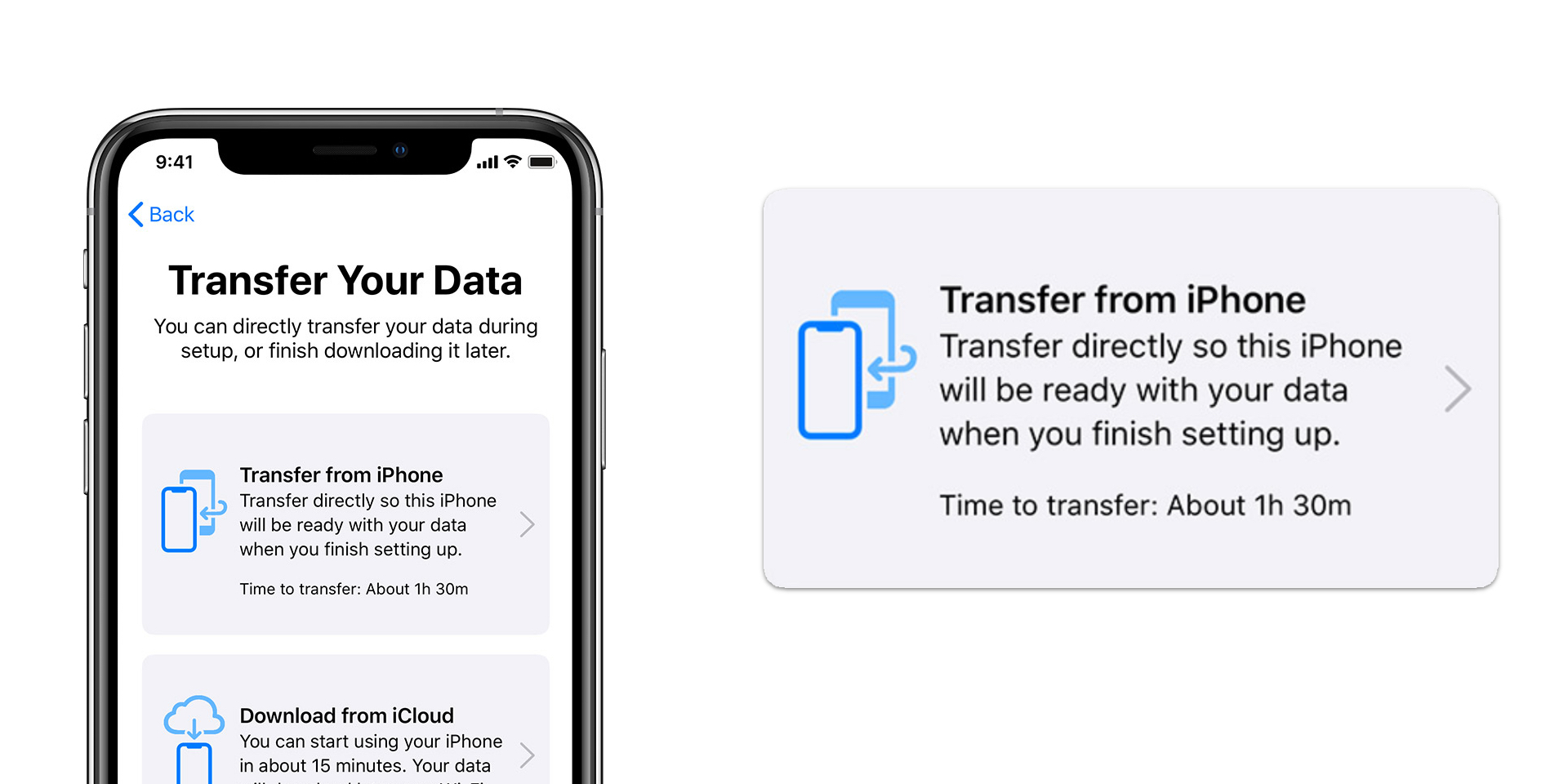 New iPhone set up: Transfer data directly to a new iPhone ...